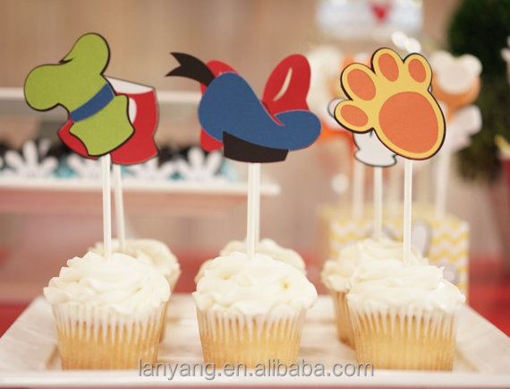 Mickey Mouse Clubhouse Cup Cake Toppers