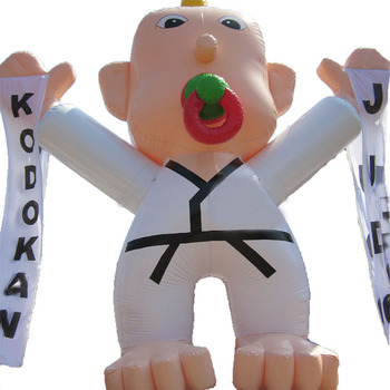 Advertising Inflatable Karate Man model Inflatable  for event display