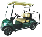 Club car golf cart com carregador de bateria