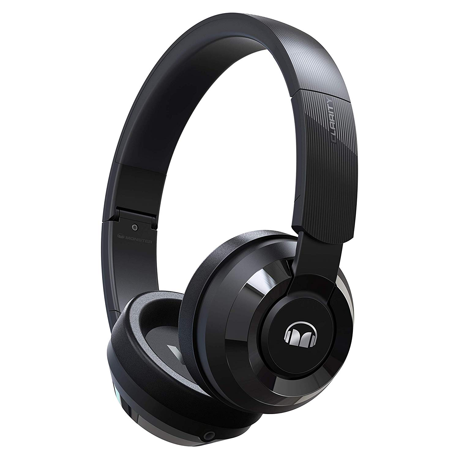 Monster Clarity HD 100 stereo plug foldable Around-Earphone bass wireless bluetooth headset headband Headphones