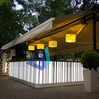 Tell World China Top Manufacturer Coffee Shop Modern Bar Counter Design