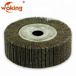 Toolstation metal pipe polishing flap wheels