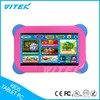 Shock resistant Cheap 7 inch Dual Core Learning Android Tablet PC for Children Kids