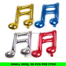 Wholesale Colorful Musical Note Balloon Elegant Theme Party Decorations