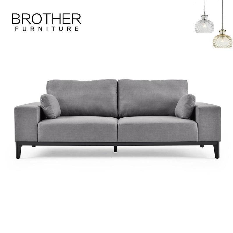 Fabric 2 Seater Sectional Sofa