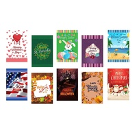 Amazon Hot Sale 12x18 inch BeautifulLife Seasonal Garden Flags Set of 10 Bright and Shine Small Holiday Yard Flags