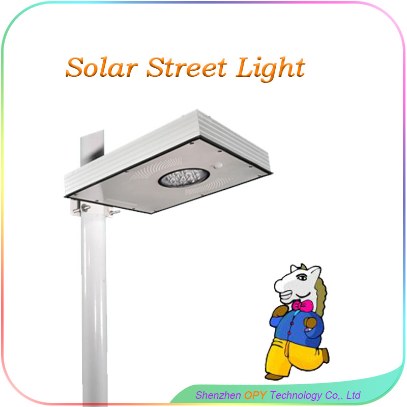 15W Out Door Solar Led Street Lighting