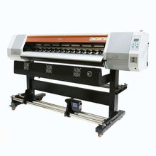 dye sublimation printer Alpha with roll take up device printing machine