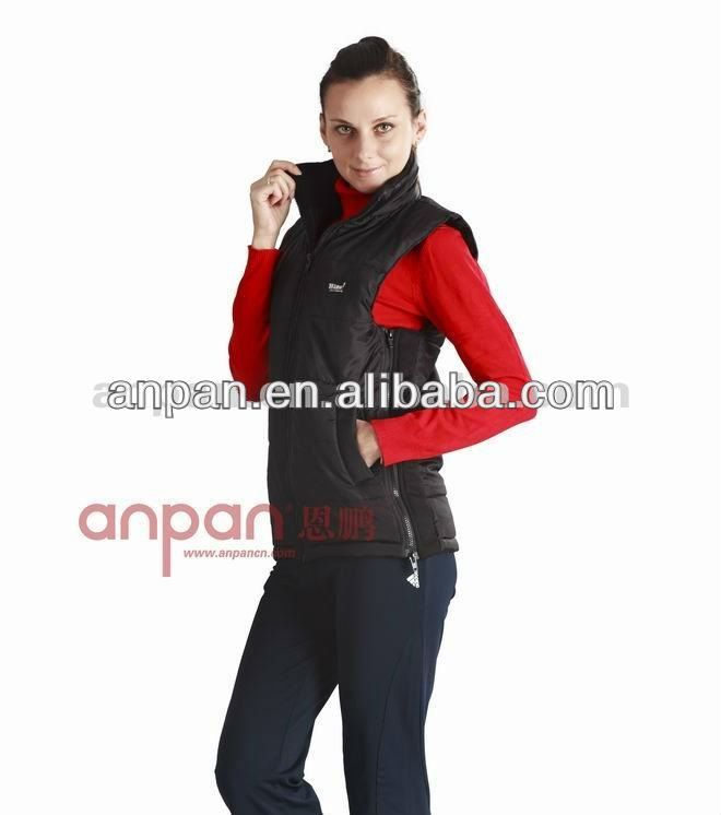 Heated outdoor sports clothing, Infrared heated winter vest