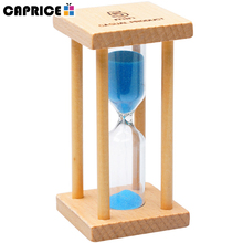 custom hot selling empty refillable hourglass with your logo