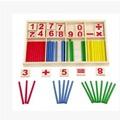 Learning Education Math Stick toys set Mathematical Intelligence Stick Building Blocks Math Toy Gift Games Toys