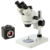 7X-45X Boom stand lucky zoom trinocular stereo microscope with digital camera