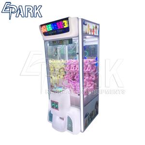 Crazy toy 3 EPARK claw crane game merchandiser machine