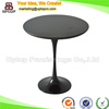 (SP-GT345) Black Eero Saarinen Tulip wooden small round table