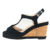 2019 New Arrival Custom Fashion Sexy Wholesale Open Toe Platform Latest Ladies Black High Heels Wedge Sandals
