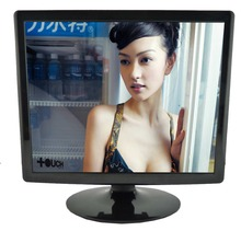 Latest design 19 inch TFT LCD/LED monitor lcd desktop computer monitor with AV input