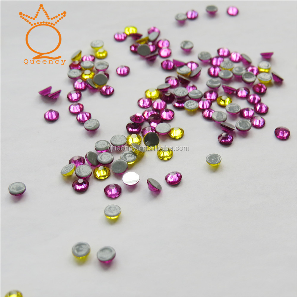 wholesale 3mm ss10 1440piece crystal low lead iron on heat transfer hotfix korean rhinestone for bags clothing