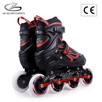 Quad roller skate new,red led children kids roller skate wheel