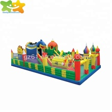 kids cheap inflatable bouncy castle playground for sale
