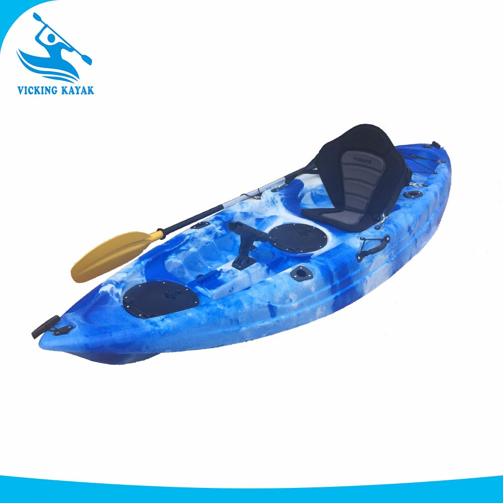 2017 new designed small cheap fishing kayak with 4 fishing for Best fishing kayak 2017