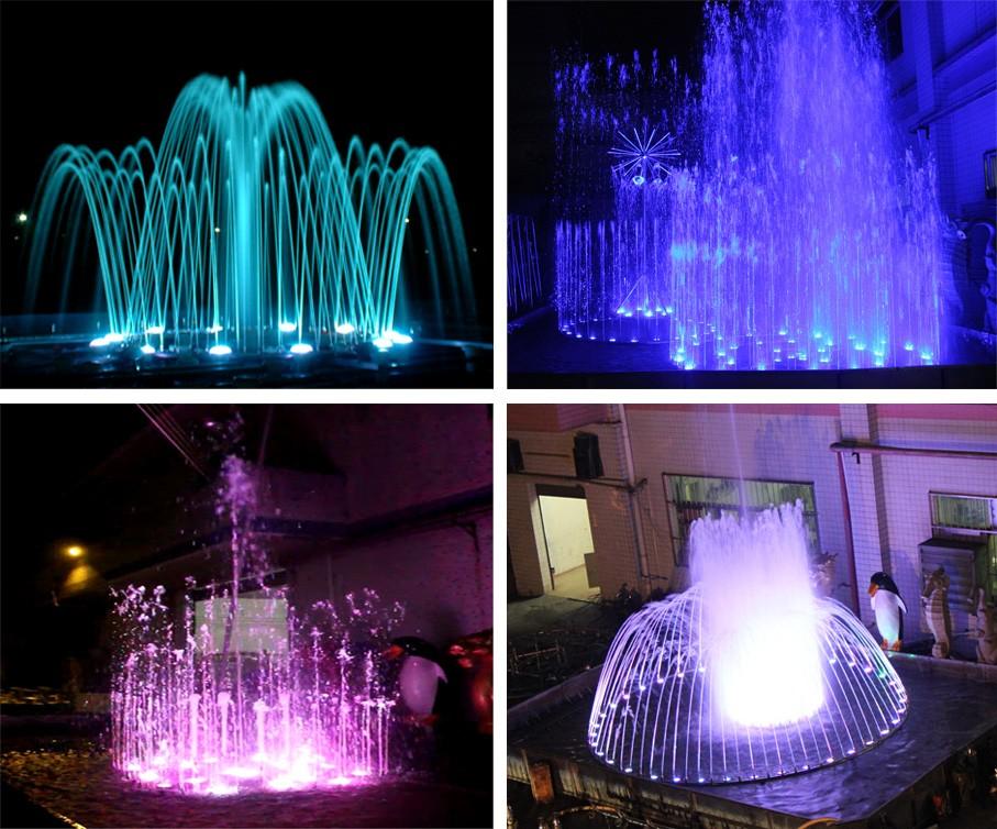 Digitaler Wasservorhang der großen Ereignisse und des grafischen Wasserfalls der Hochzeitsdekoration