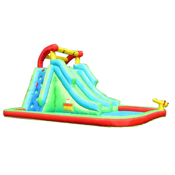 residential water slide inflatable combo for sale/kids jumping castle inflatable slides