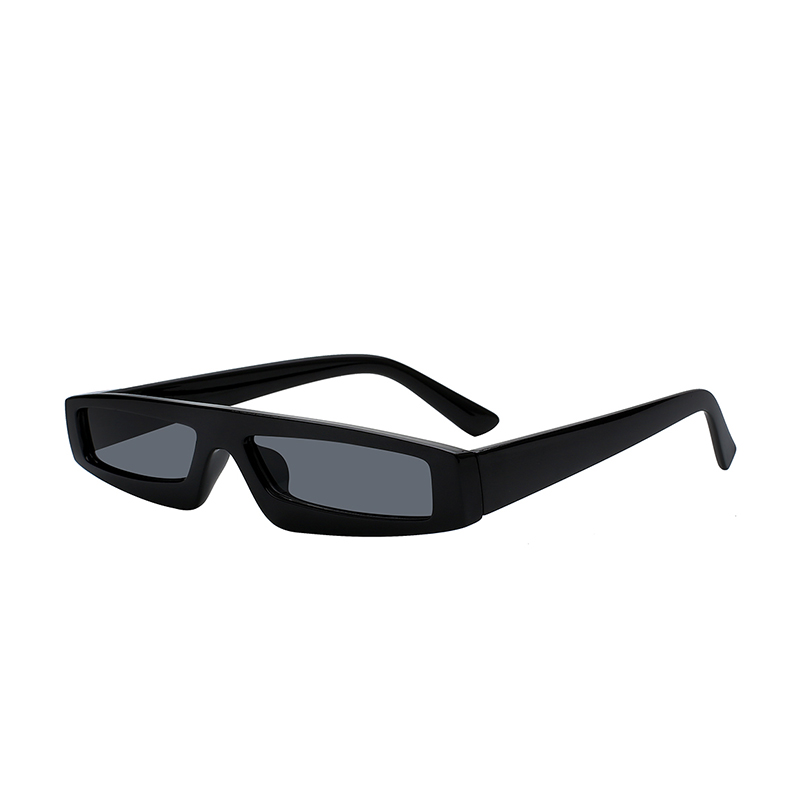 New design PC lens eco friendly material small sunglasses rectangle