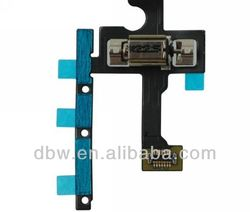 For Iphone 5S Power Mute Volume Button Switch Connector Flex Ribbon Cable