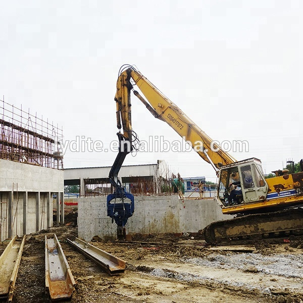Pile Driving Equipment/vibratory Hammer Used On Excavator - Buy Vibratory  Hammer,Pile Driving,Hydraulic Vibratory Hammer Product on Alibaba com