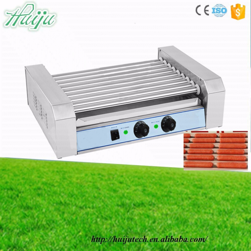 9 rollers grill hot dog roller hot dog machine sausage roast machine HJ-RG9