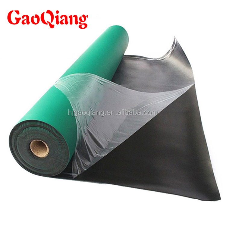 Various Size flame retardant anti-static rubber mat rubber sheet