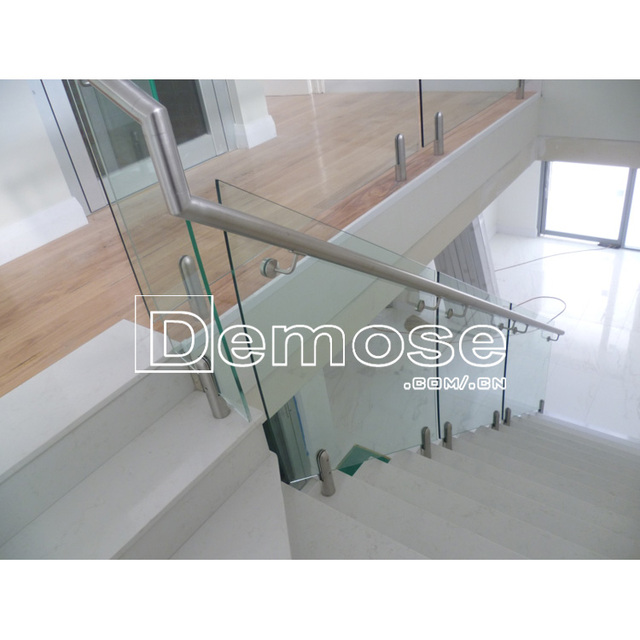 Glass Stainless Steel Stair Railing Post Design