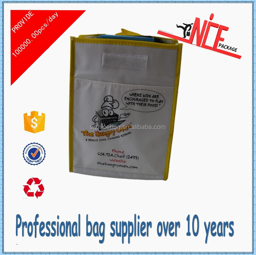 Alibaba China cheap nonwoven cooler bag