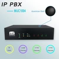 4 ports FXO/FXS Asterisk IP PBX