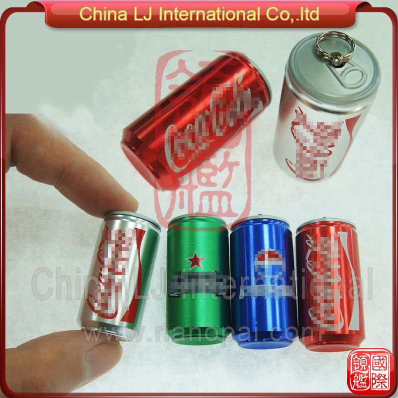 aluminum pop can usb stick beer soda drink promotional gift soda can usb flash memory