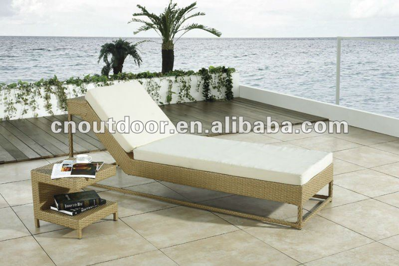 outdoor leisure sun loungers bed
