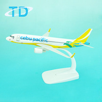 Hot! Promotional Gifts Airbus A320 Cebu Plastic Model Airplane