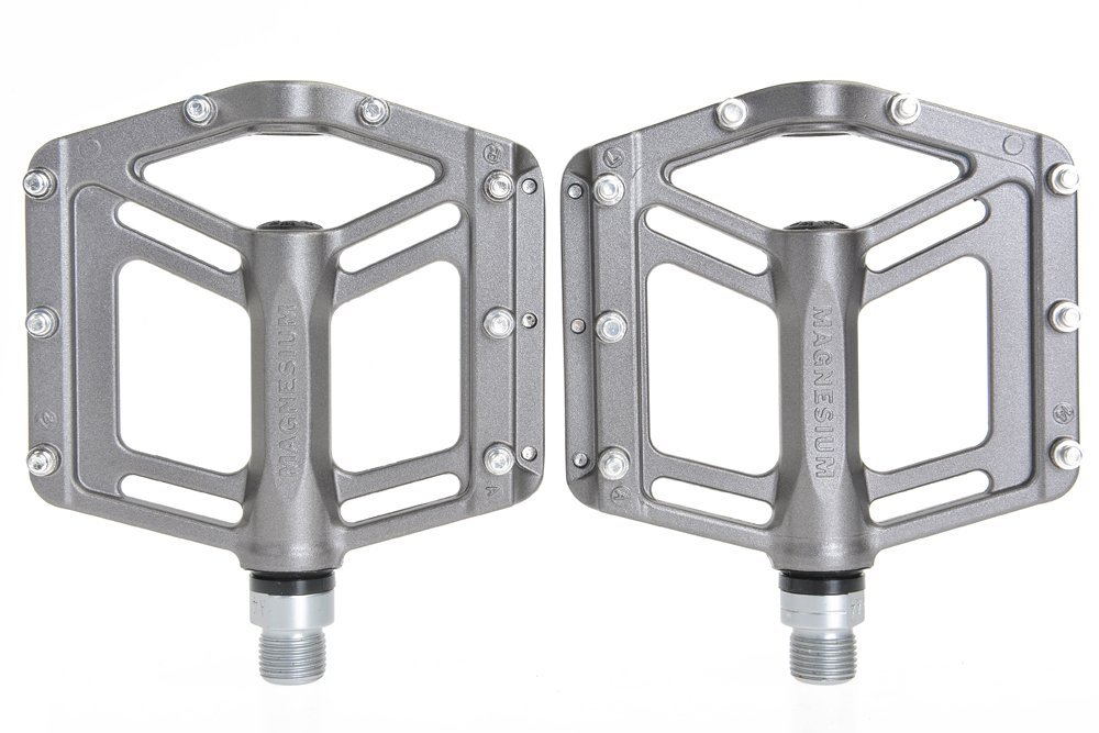 "Wellgo MG6 Magnesium 9//16/"" Bicycle Bike Pedals Sealed Bearing For MTB DH BMX"