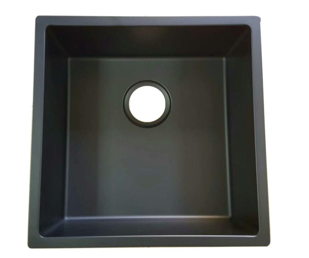 black kitchen sink granite stone sink