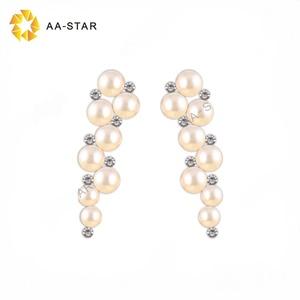 9483cacc0b Pearl and rhinestone applique bridal for wedding dress