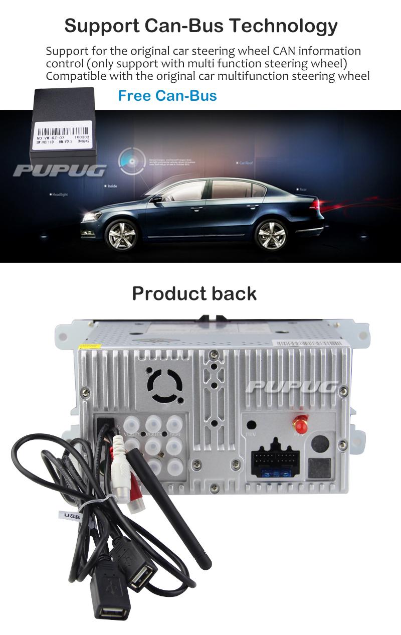 android 5 1 quad core car radio 2 din stereo autoradio bluetooth for vw golf jetta passat caddy. Black Bedroom Furniture Sets. Home Design Ideas