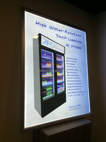 Led Light Box /led Advertising Board Ultra Slim Snap Frame Nano ...