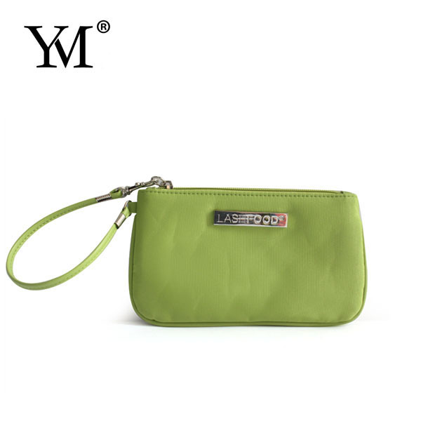 2017 high quality promotional microfiber wristlet the find handbags