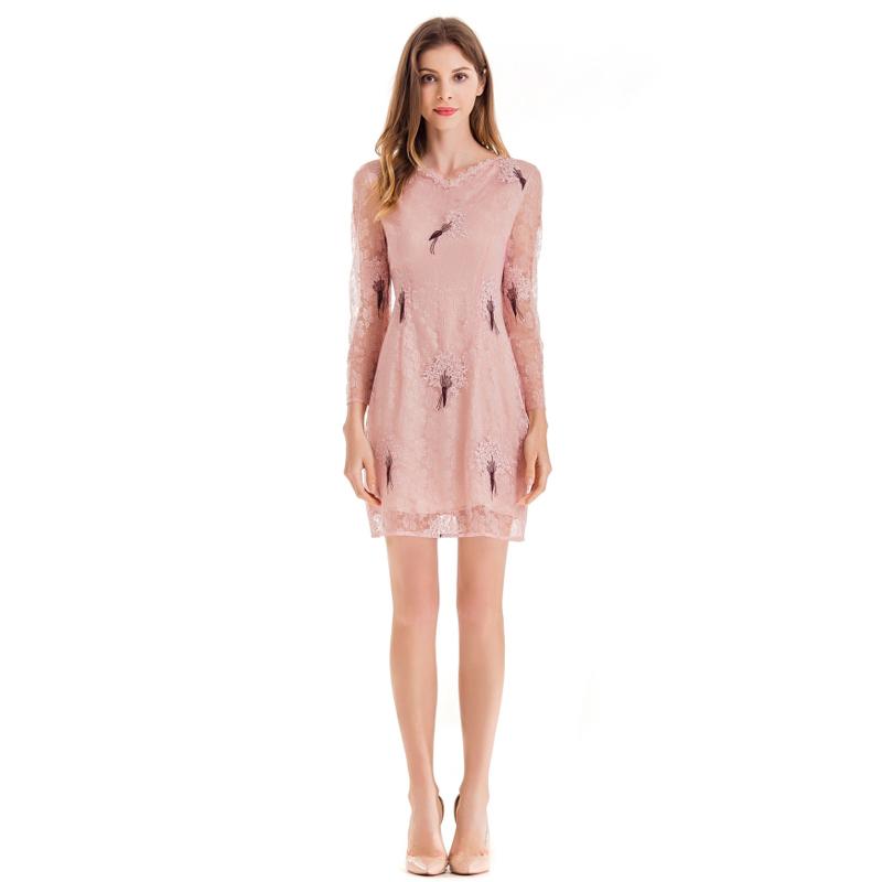 aa126aa29397 Venta al por mayor vestidos elegantes con escote-Compre online los ...