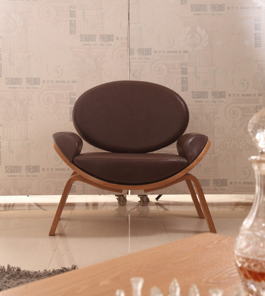 high quality European style fabric emes lounge chair,LCW lounge chair