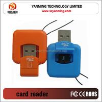 micro usb single TF card reader SD card reader