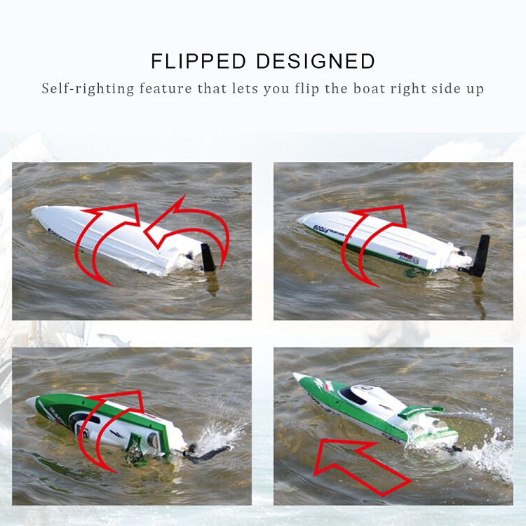 factory price feilun rc boat FT009 Remote Control Boat 2.4G 4CH High Speed Water Cooling RC Racing Boat
