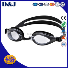 High quality funny silicone strap PC lens sprot racing swimming goggles