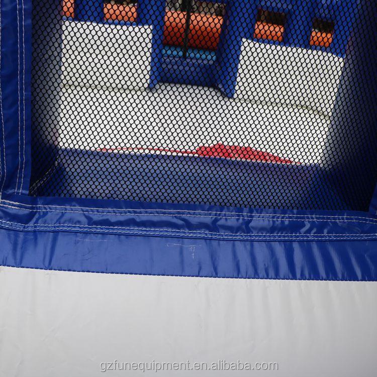 inflatable rugby goal post.JPG