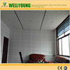 chinese producing 595*595mm acoustic perforated gypsum panel